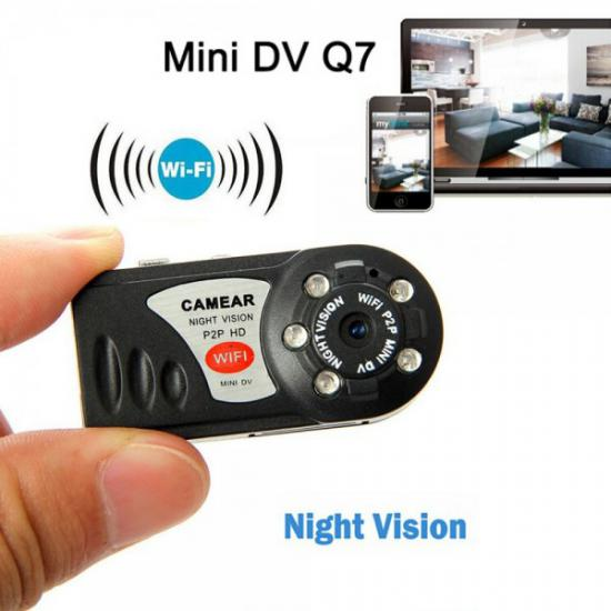 Full HD İP Wi-Fi MiNi DV DVR Kamera