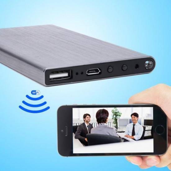 PowerBank Wifi Full HD Gizli Kamera